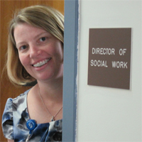 Jennifer Martone, Director of Social Work