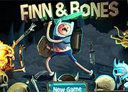 juegos hora de aventuras finn y bones