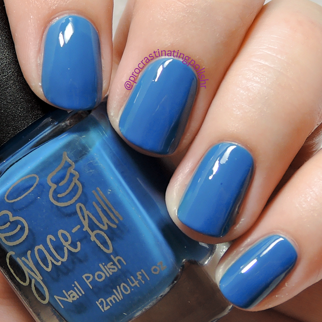Jaw Droppin - Grace-full Nail Polish | Peacock collection