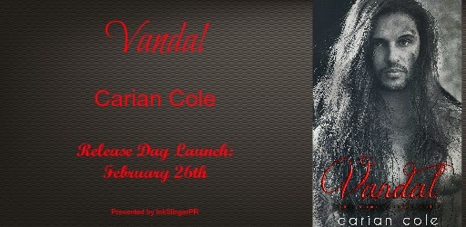 #ReleaseDay: Vandal by Carian Cole