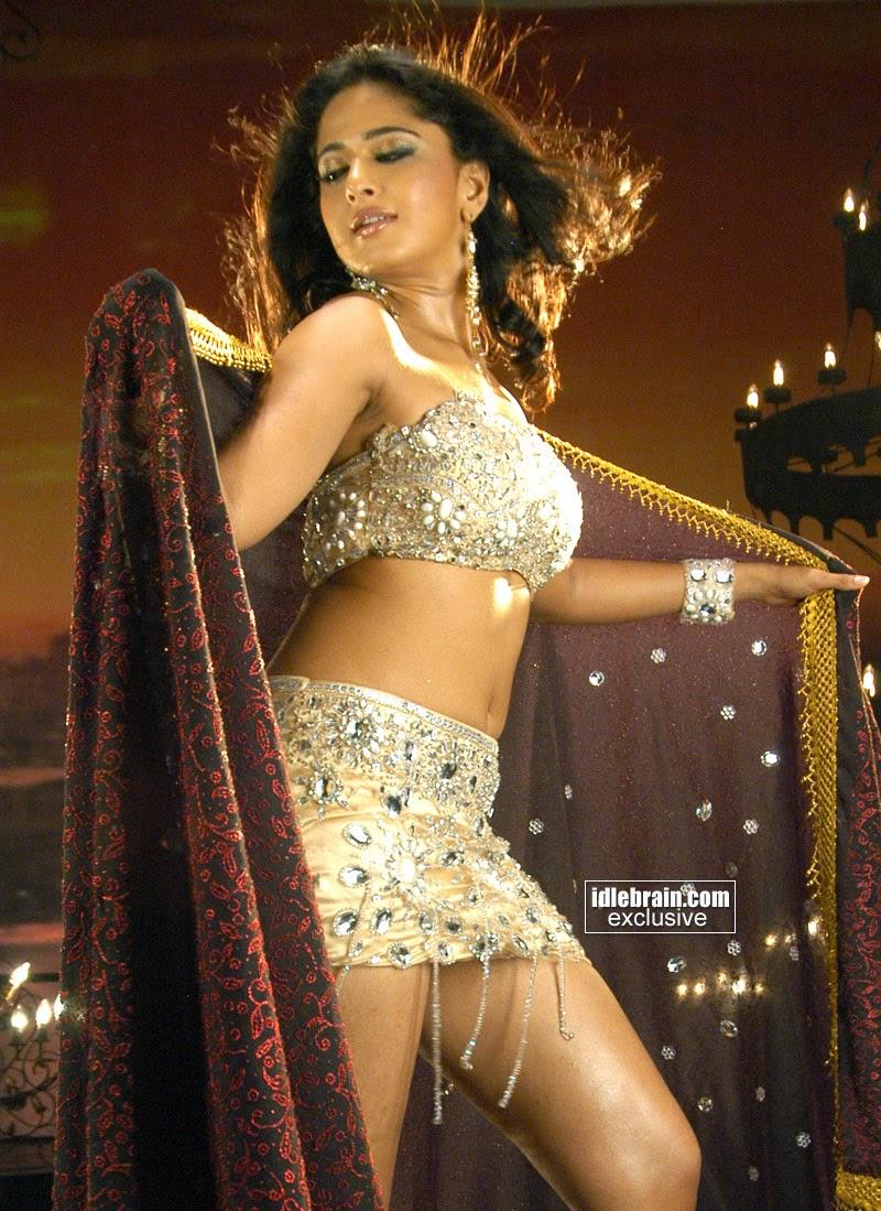 Anushka Shetty Mini Skirt