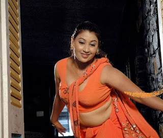 Hot South Actress Actress Removing Saree to Show Boobs in Blouse