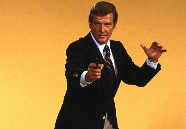 ROGER MOORE(14.10.1927-23.05.2017)