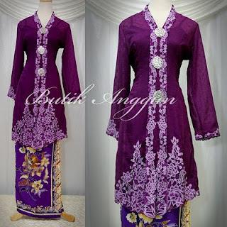 Model Kebaya Wedding Muslim Modern