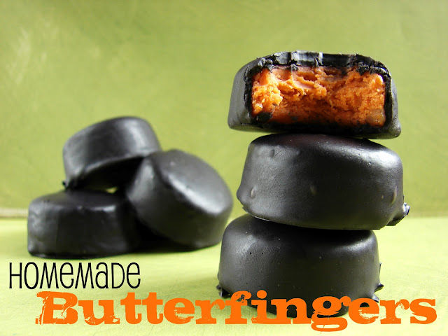 Homemade Butterfingers @katrinaskitchen