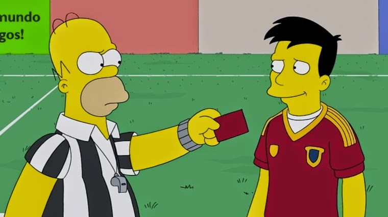 The Simpsons 25x16 – You Don't Have to Live Like a Referee