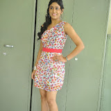 Manisha Yadav Photos in Floral Short Dress at Preminchali Movie Press Meet 64