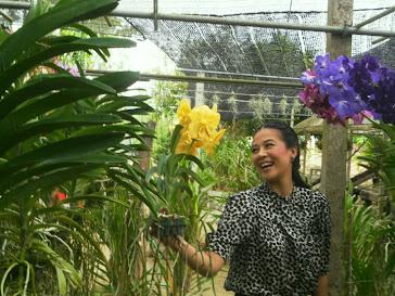 กบ ปภัสรา เตชะไพบูลย์ @ ลันดาออร์คิดและรีสอร์ท อ.สวนผึ้ง จ.ราชบุรี