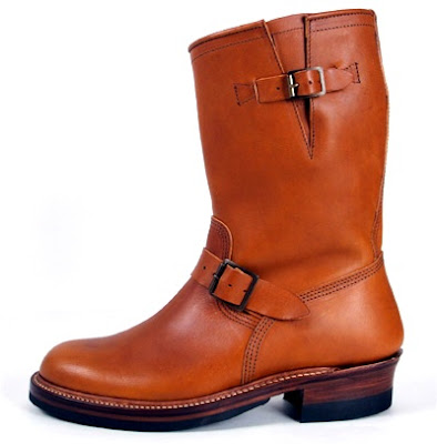 JOHN LOFGREN & CO. ENGINEER BOOTS (COGNAC)