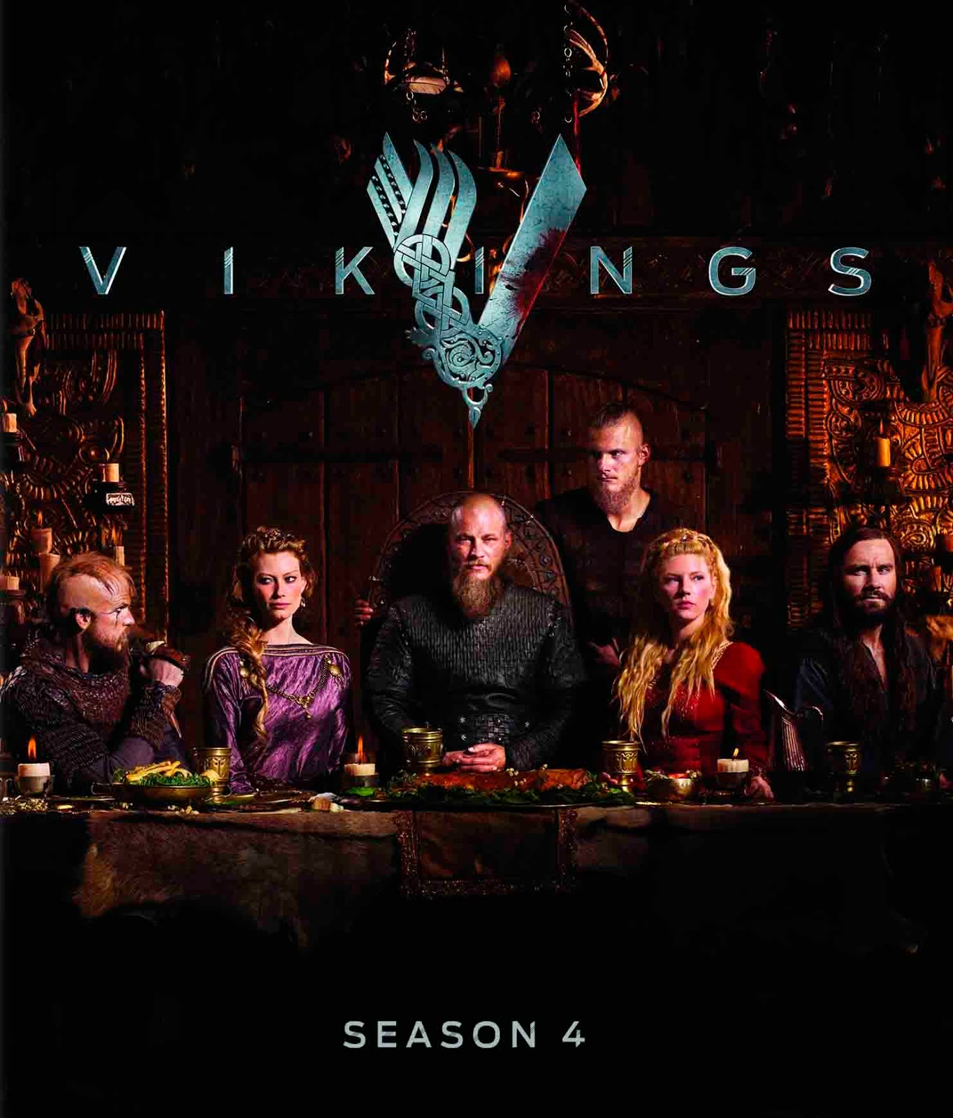 Vikings 4ª Temporada Torrent - BluRay 720p Dual Áudio (2016)