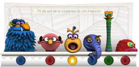 Google : 75 ani de la nasterea lui Jim Henson