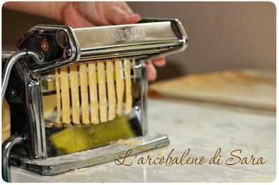 pasta all'uovo- tagliatelle