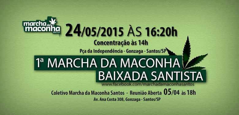 Marcha da Maconha Santos