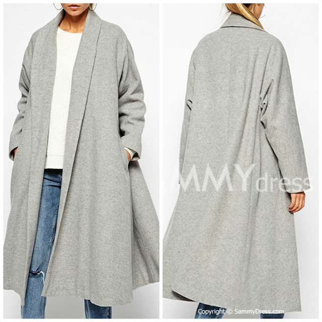 cappotto grigio oversize cappotto grigio come abbinare un cappotto grigio abbinamenti cappotto grigio grey coat how to wear grey coat how to combine grey coat cappotti oversize inverno 2016 tendenze cappotti inverno 2016 cappotti a uovo mariafelicia magno fashion blogger colorblock by felym fashion blog italiani fashion blogger italiane blogger italiane di moda shopping on line low cost coats oversize coats winter 2016 coats shopping on line sammydress