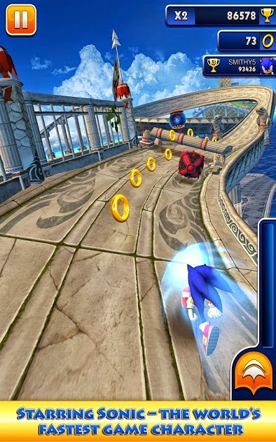 Sonic Dash 1.12 android