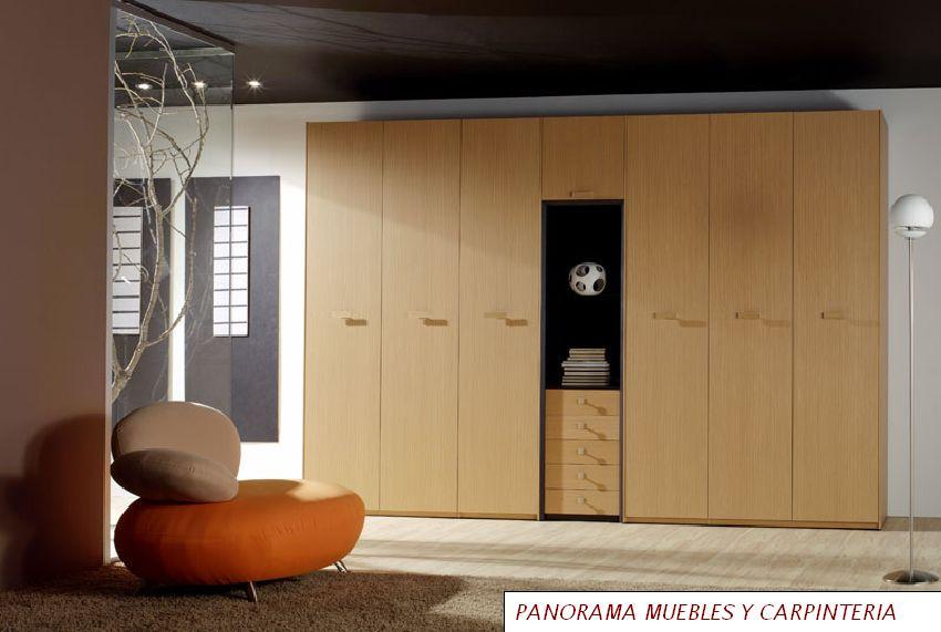 Panorama muebles y carpinteria closet modernos for Closets modernos bogota