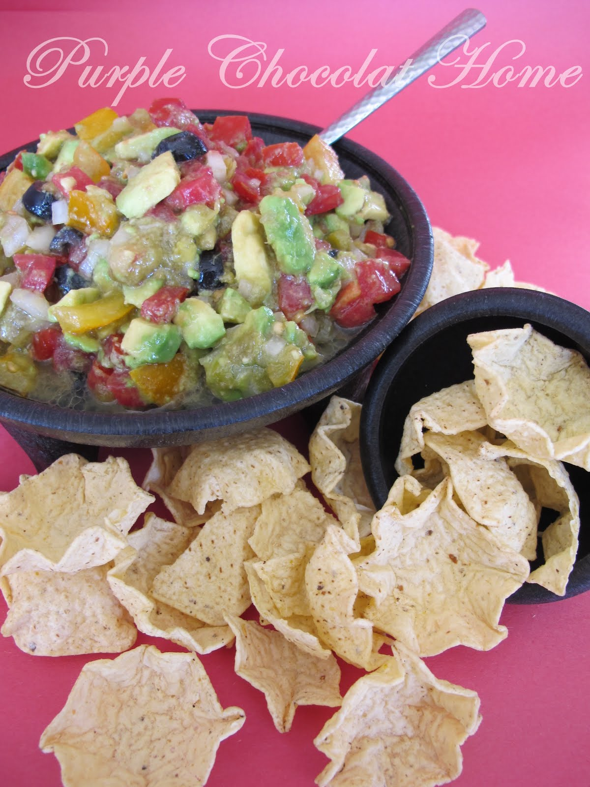 Purple Chocolat Home: Avocado Salsa