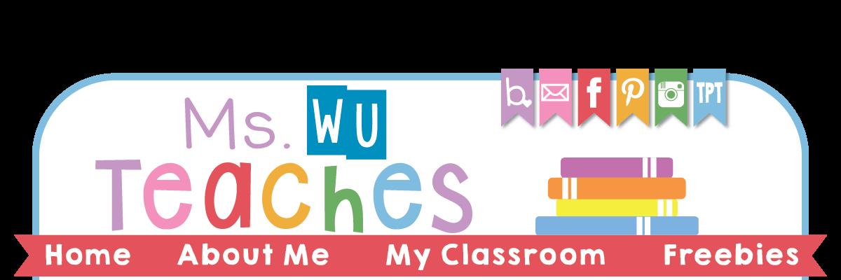 Ms. Wu Teaches