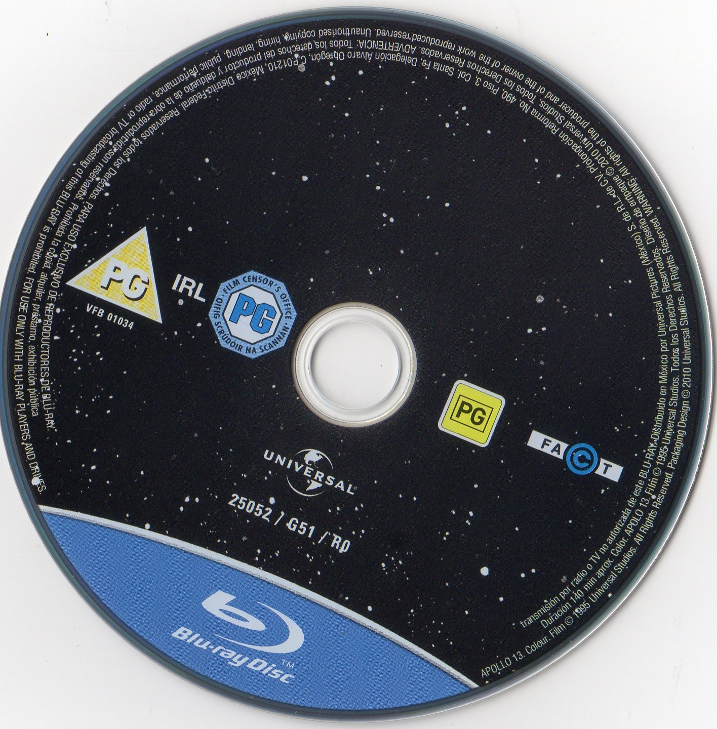 Label Bluray Apollo 13