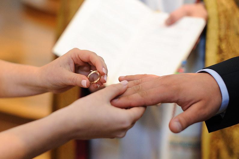 vestuvės bažnyčioje