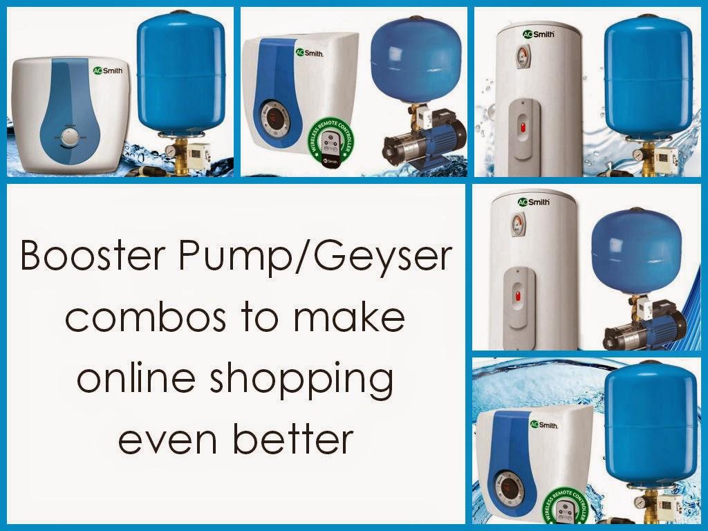 booster pump/geyser combos online | Pumpkart
