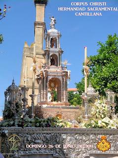 Cantillana - Cartel Corpus Christi 2011