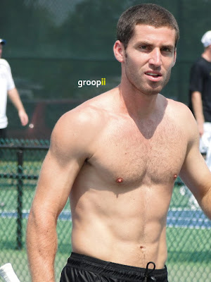 Flavio Cipolla Shirtless at Cincinnati Open 2011