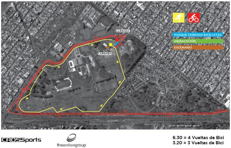 Circuito Kdt Buenos Aires : Volantes de carreras circuito duatlon ciudad buenos