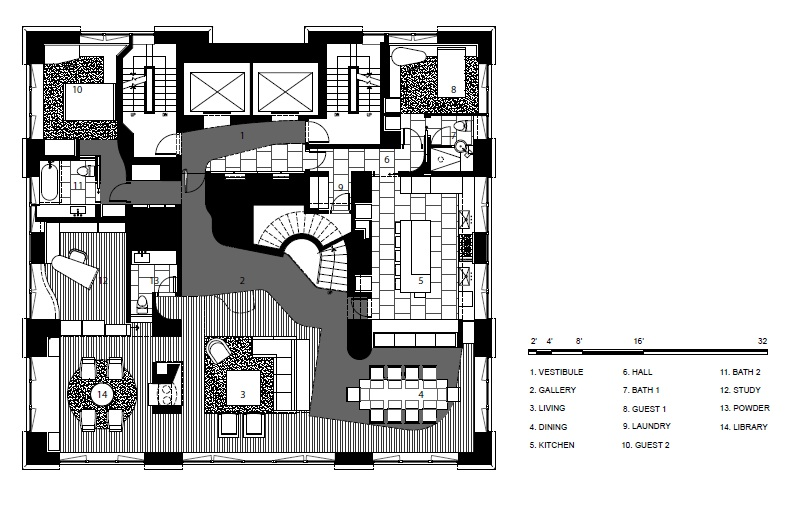 Luxury duplex plans with interior photos joy studio for Luxury duplex floor plans