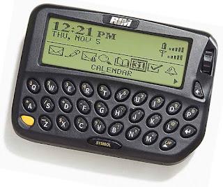 ponsel perangkat blackberry pertama