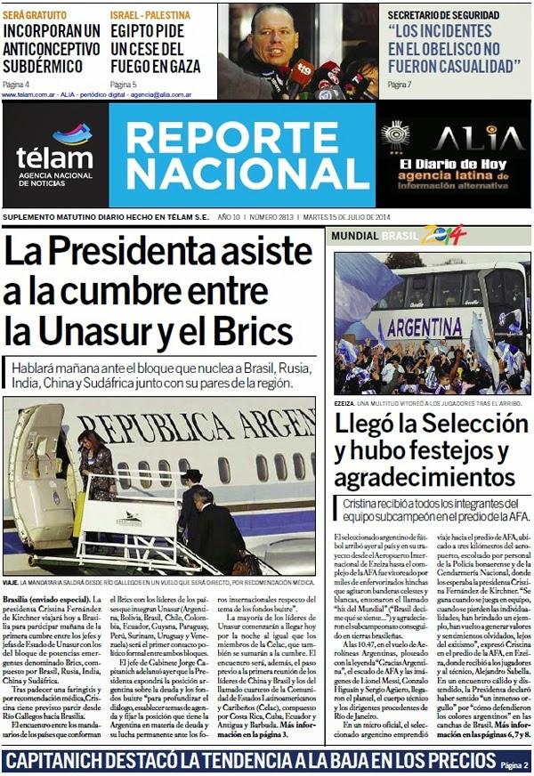 EL DIARIO DE HOY 15-07