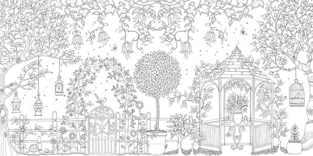 Coloring Book Secret Garden : Meet johanna basford and explore her newest coloring books