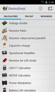 ElectroDroid Pro android apk - Screenshoot