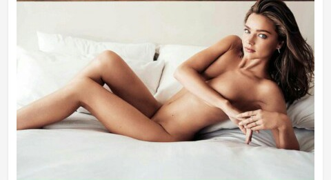 miranda kerr goes totally nude for harper s bazaar magazine