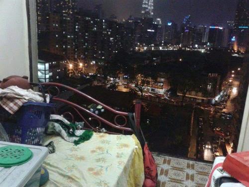 Rumah Pangsa Loke Yew Tercabut Dinding Angkara Ribut