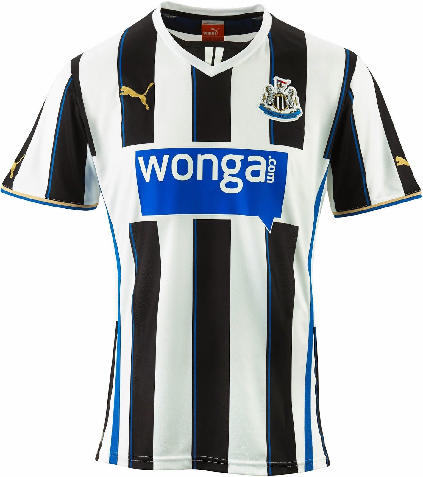 Newcastle united 13 14 2013 14 puma home away third for Newcastle home