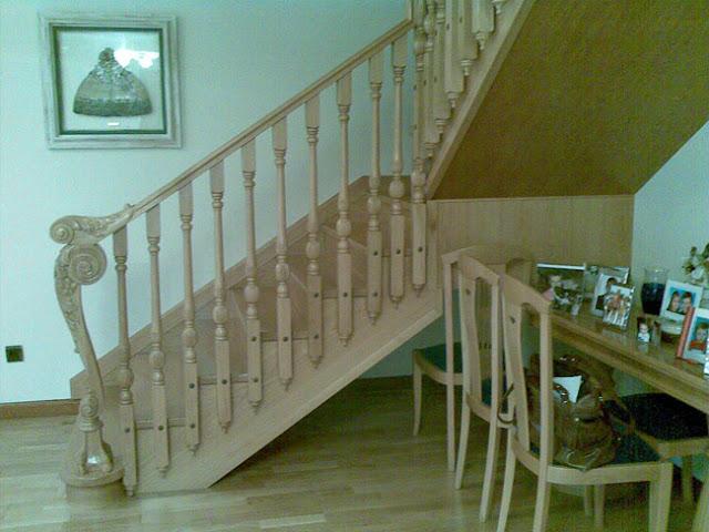 Escaleras de madera a medida en Ávila