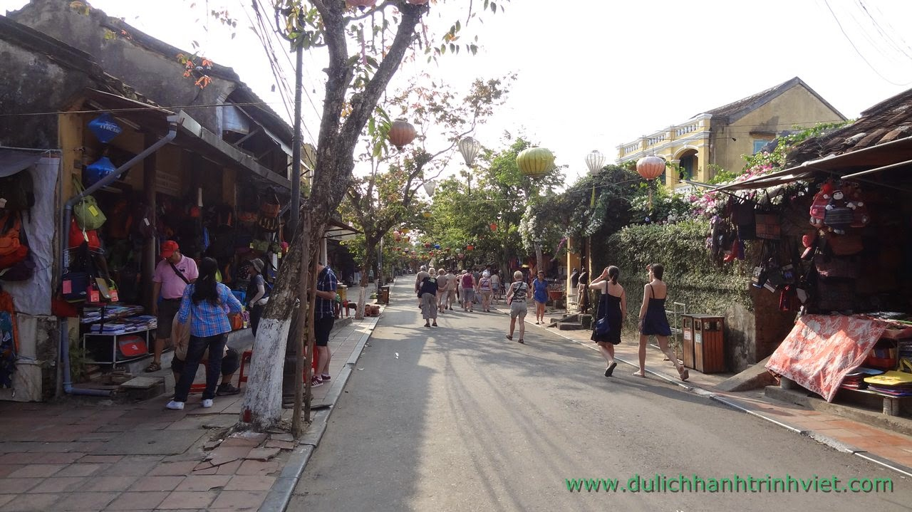 Một ngày tour tham quan phố cổ Hội An 2014