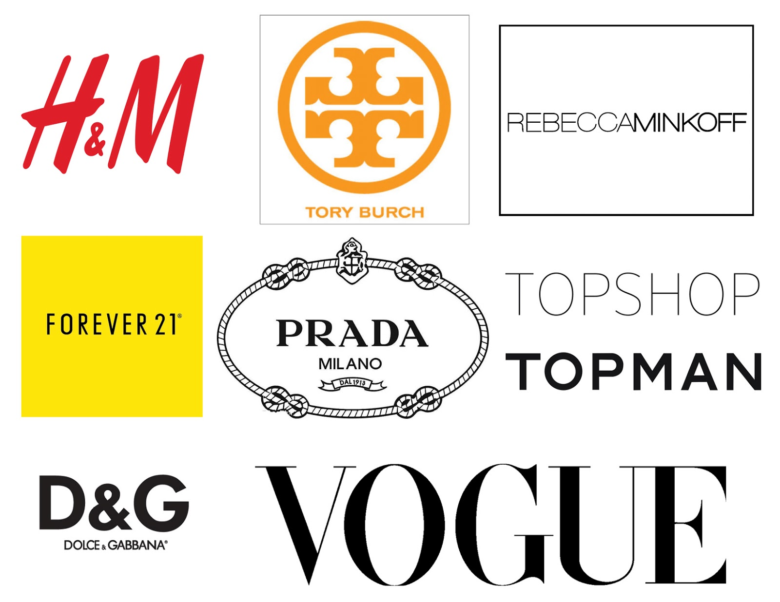 Fashion Company Names Brand Name 6