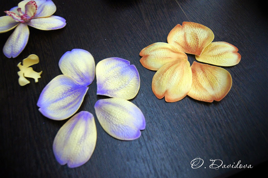 Орхидеи своими руками из фоамирана - Фото кайф