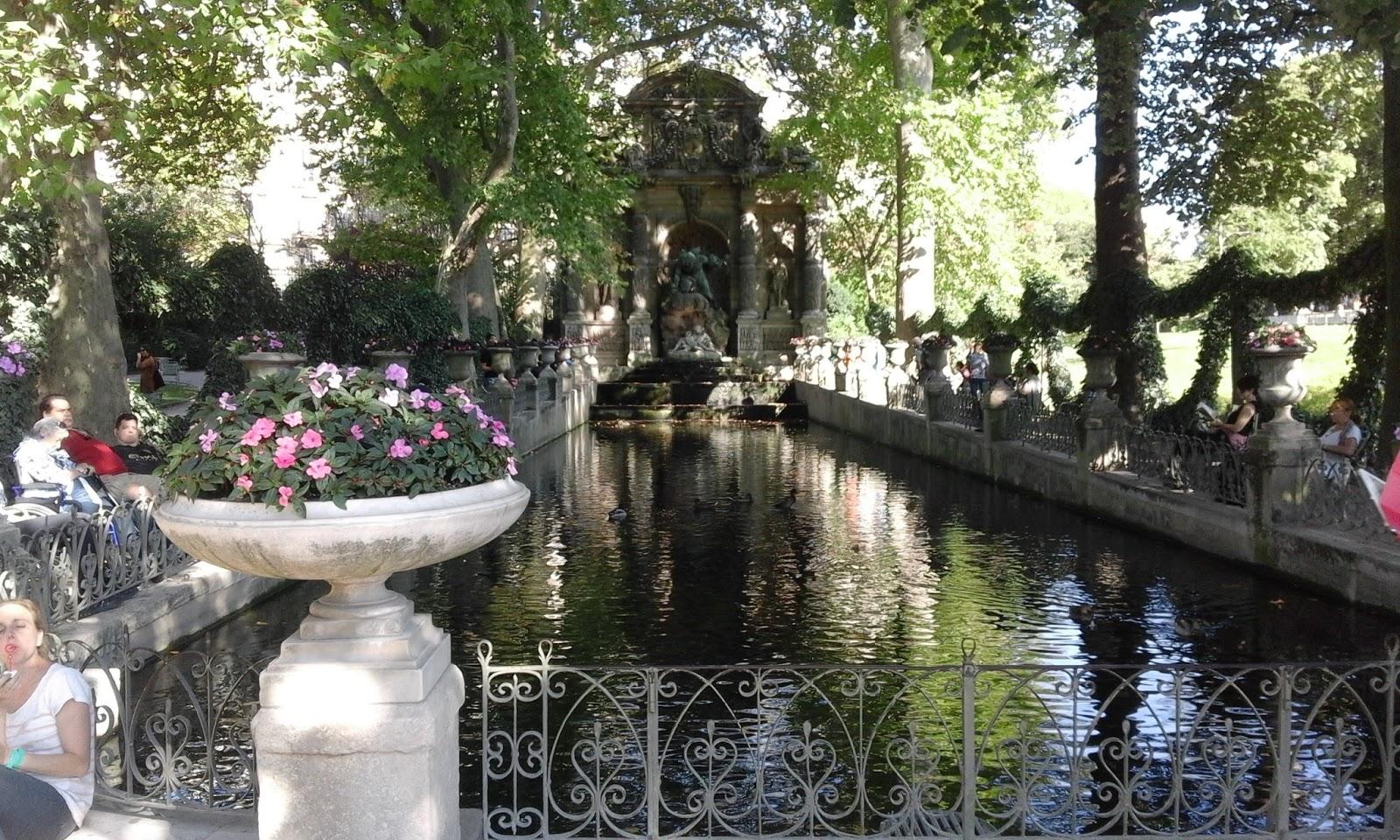 Jardines de luxemburgo par s francia mediterr nea de for Jardines de luxemburgo paris