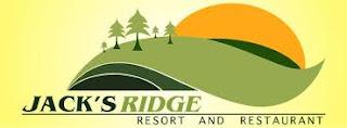 Job Vacancies at Jack's Ridge Resort and Restaurant!