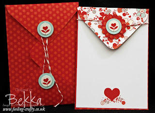My Little Valentine Stamp Set - order now from Bekka Prideaux and get a free tutorial