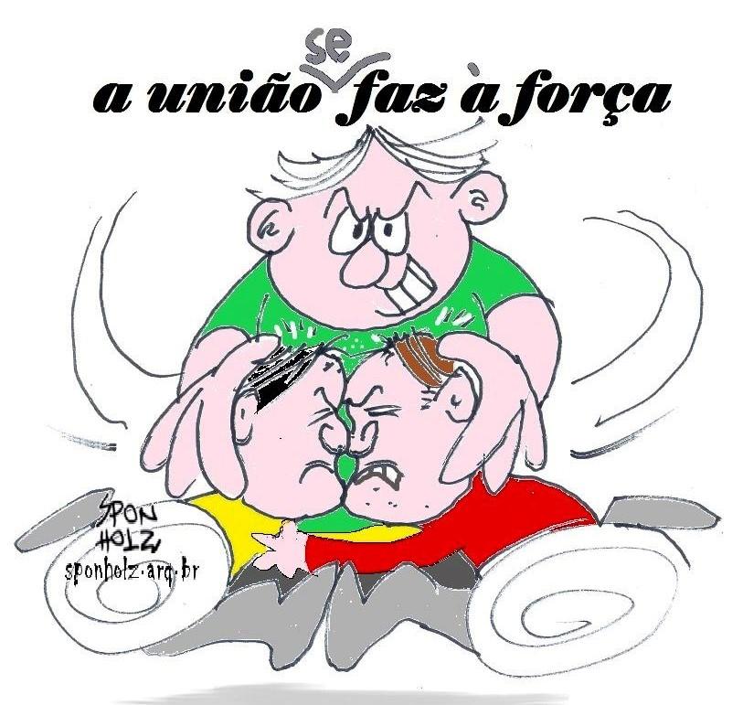 Brasil unido jamais será vencido