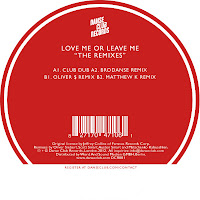 Cherie Lee Love Me Or Leave Me Danse Club Records