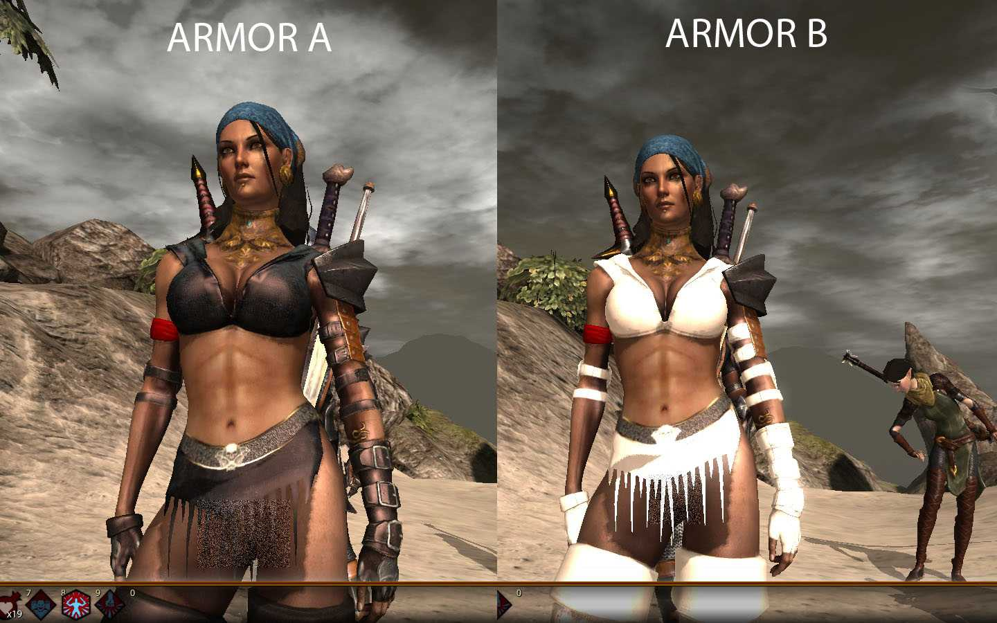 Wow sexy armor mods anime pic
