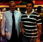 Con Mario Trapani