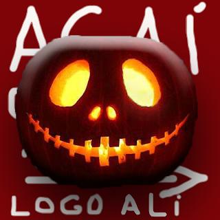 Avatar de Halloween usado pelo @AcaiGrosso