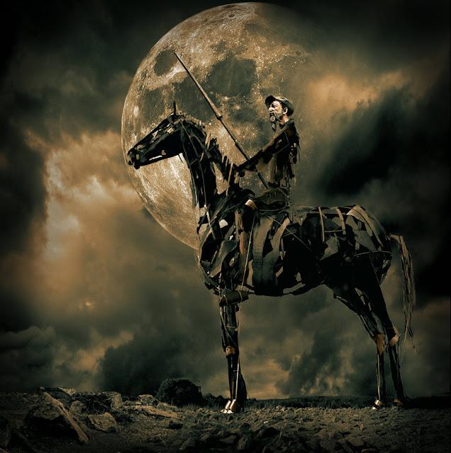 El Quijote y la luina
