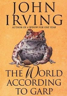 Cover of John Irving's novel The World According to Garp